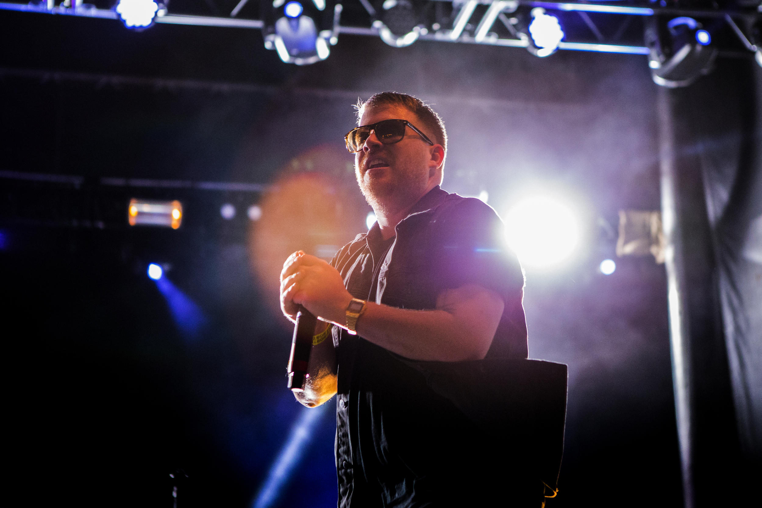 Rapper EI-P of Run the Jewels performs during Brooklyn's Northside Festival at 50 Kent Avenue on June 14, 2015 in Brooklyn, New York. Shot for the  Village Voice / Getty Images .