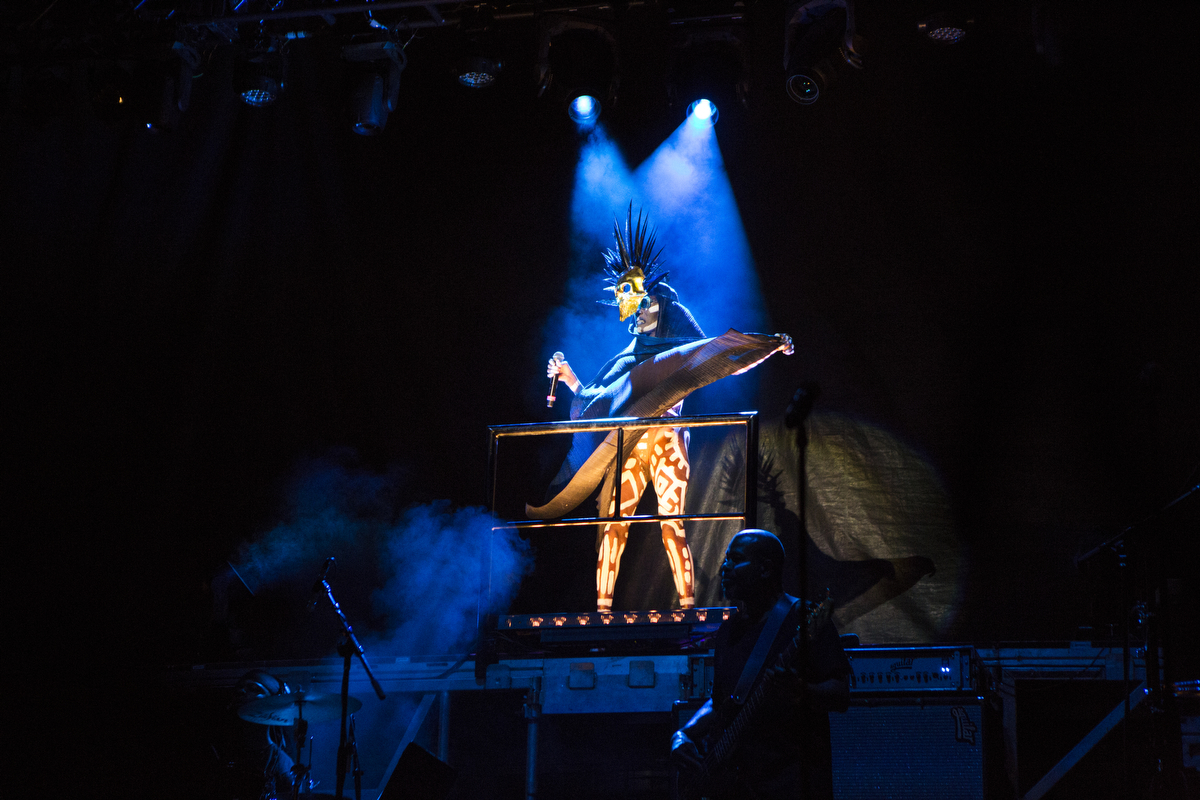 Grace Jones performs at Afropunk Fest in Brooklyn, New York on Aug. 22, 2015. Photo shot on assignment for the Village Voice.