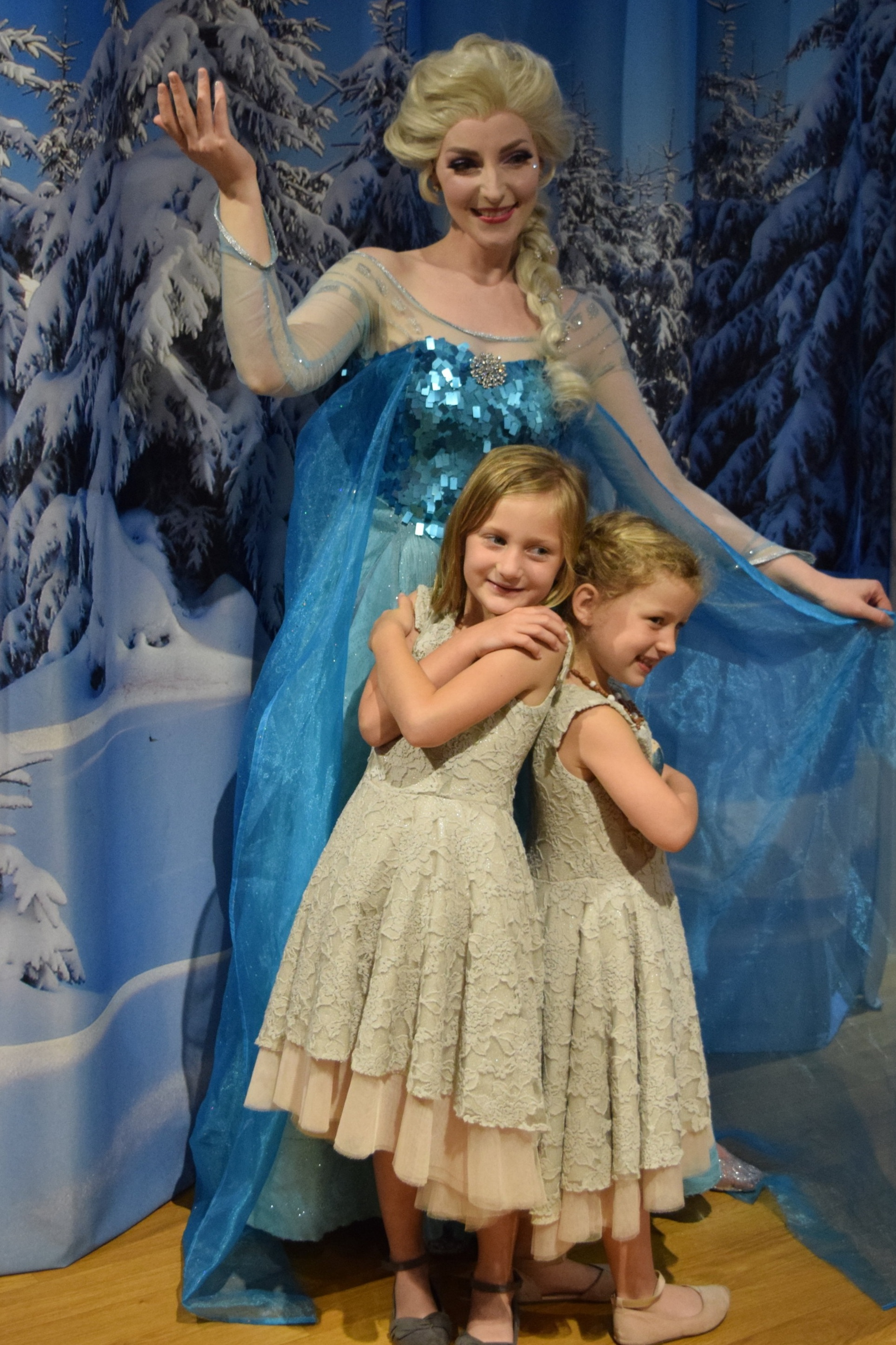 Make a Gingerbread House and meet Elsa the Snow Queen, too!