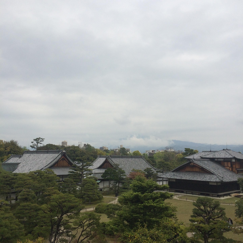 Nijo Castle pavilion