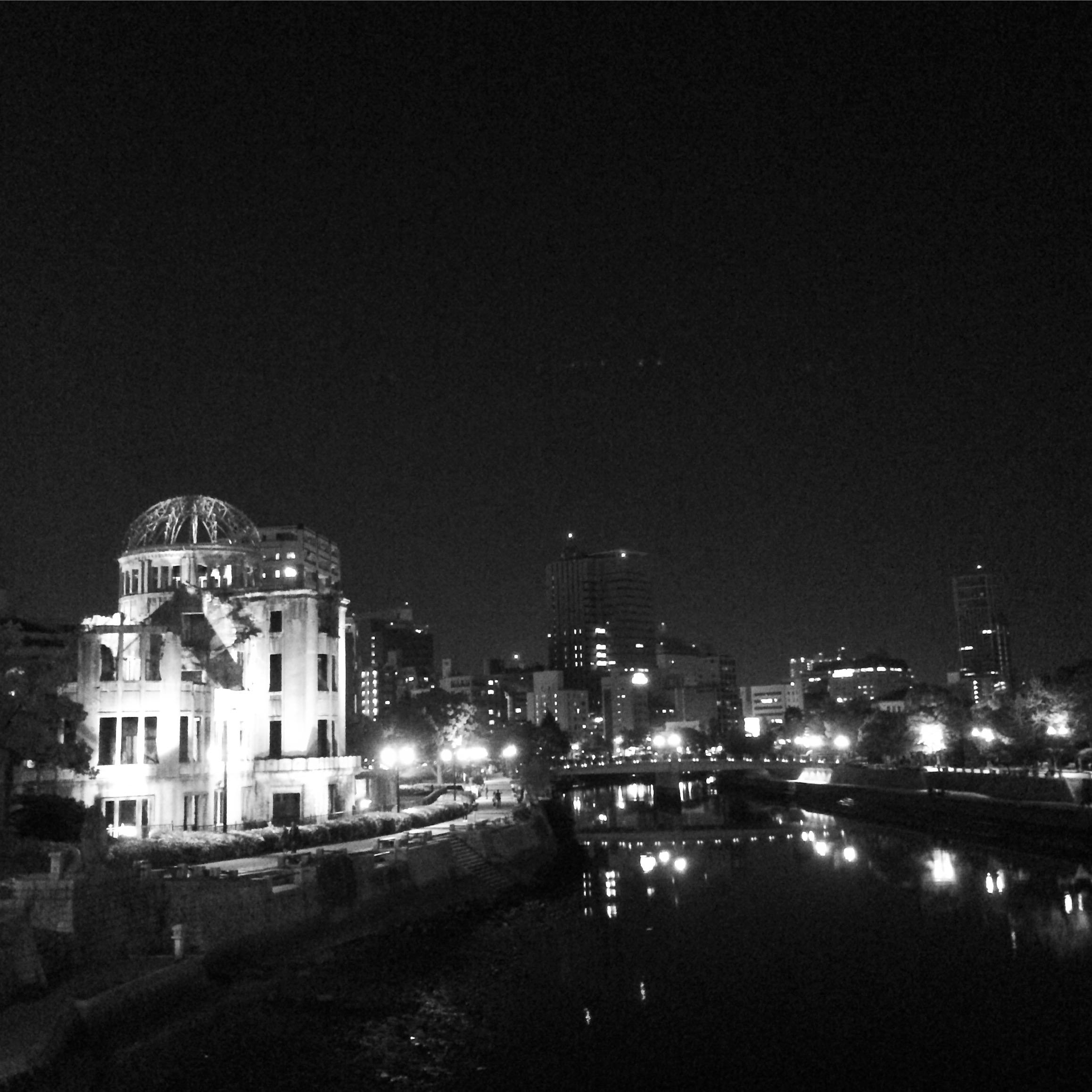 Dome at night, Hiroshima