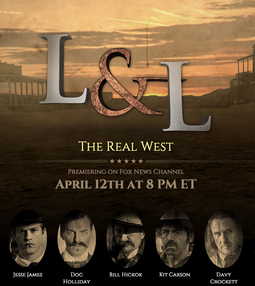 Legends and Lies: The Real West is premiering on Fox April 12th. Check it out to see our work.