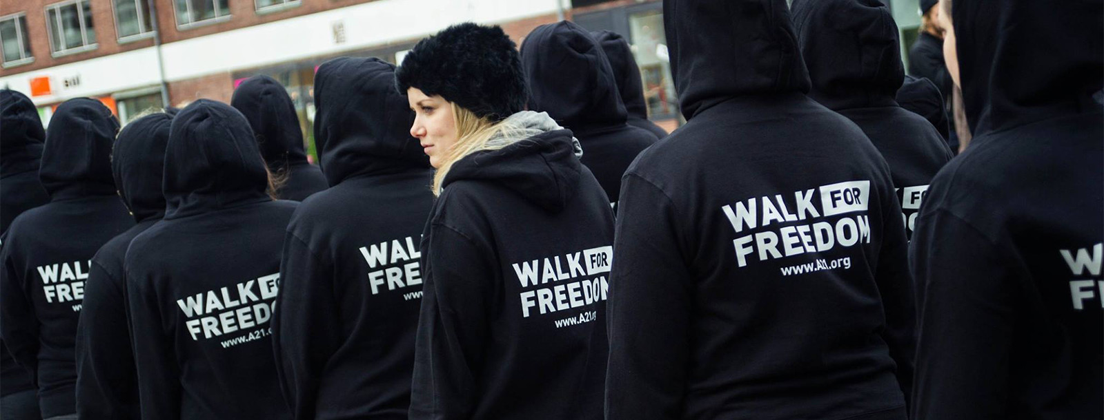 "The A21 ""Walk for Freedom"" in Copenhagen, Denmark"