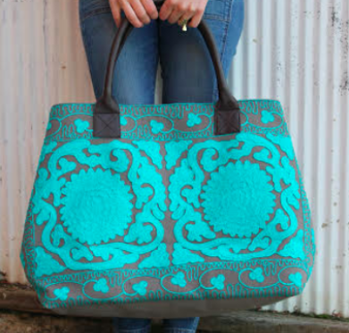 The first advocate to raise $800 *claimed* - will receive this skilfully crafted purse made by Indian artisans who work to fight human trafficking, AND a $100 gift card from Bought Beautifully.