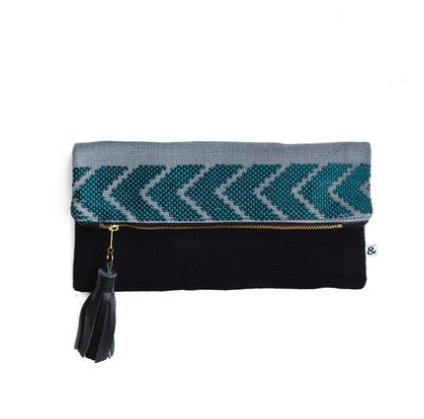 The first advocate to raise $1500 *claimed* - will receive this gorgeous fold over clutch from Purse & Clutch.