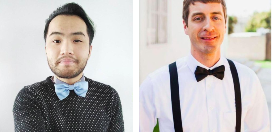 Cal Chan & Preston Smedley, participated in Dressember last year by pledging to wear a bow-tie for the 31 days of December.