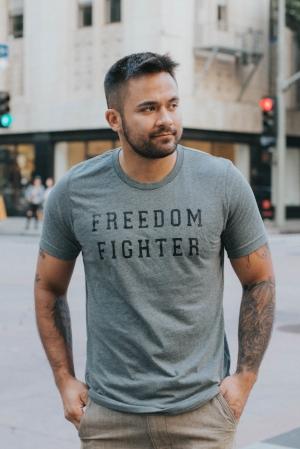 Citizens & Darling - Freedom Fighter Unisex Tee.jpg