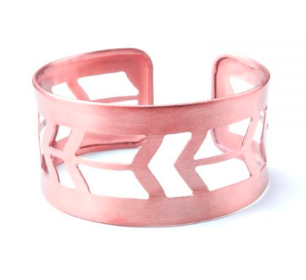 Every advocate that raises $1500 *claimed* - will receive the Prairie Style Copper Cuff from Mata Traders. (shipping to US addresses)