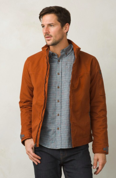featured above is the Bronson Jacket from Prana.