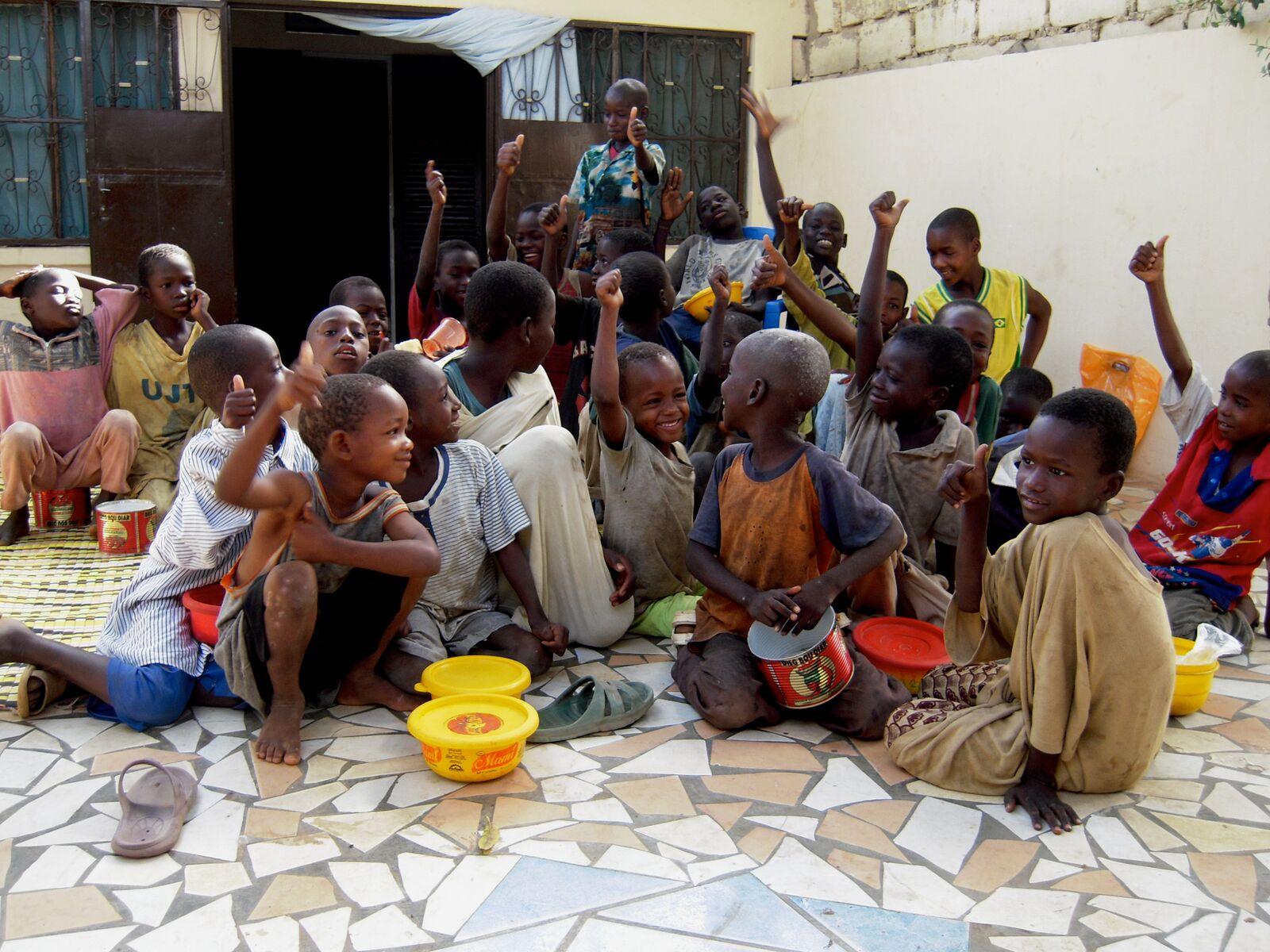 Talibe beggars in Senegal