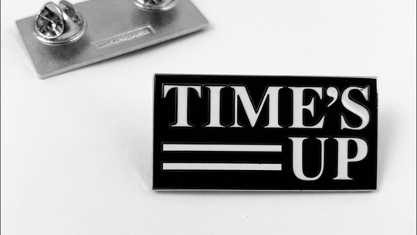 TIME'S UP PIN - Rachel Rohm.png