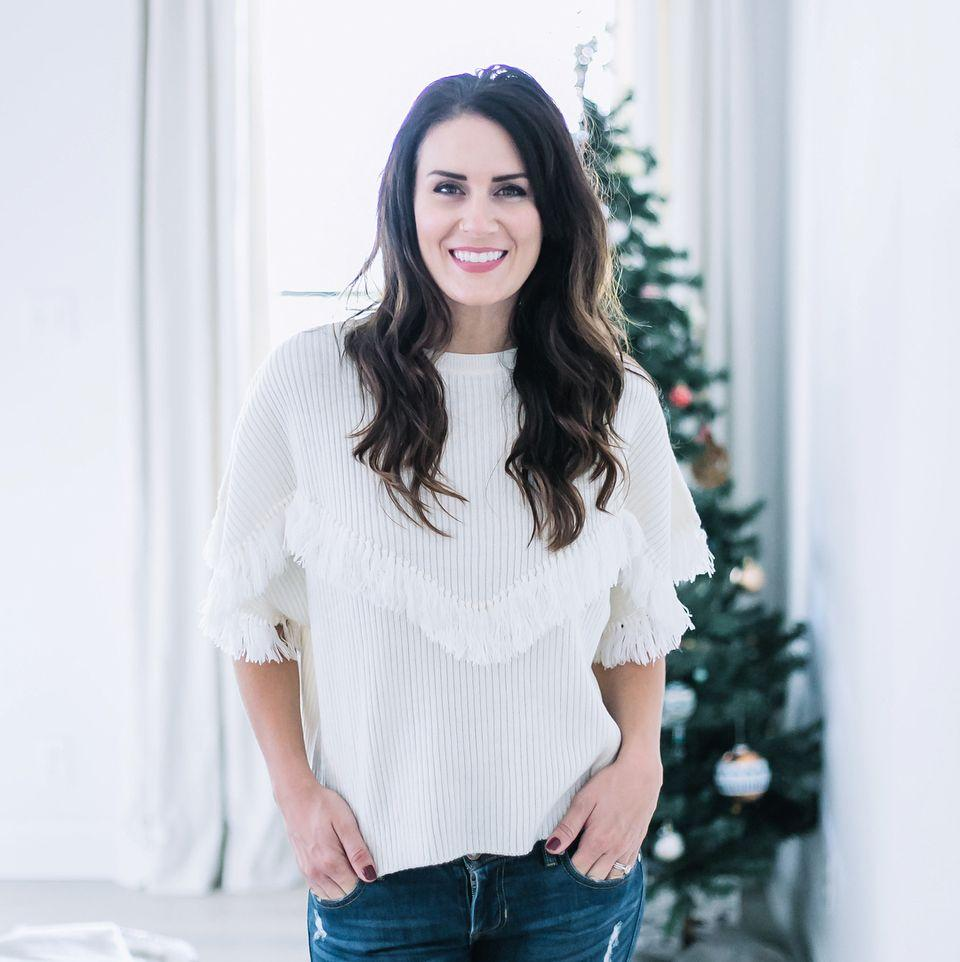 """Jaclyn Dowdle founded    Trove   ,  """"a fashion brand that delights in dignity"""" , a brand designed  """"to clothe us in the dignity that we personally desired, but also to create dignity in an industry that is infamous for suppressing it."""""""