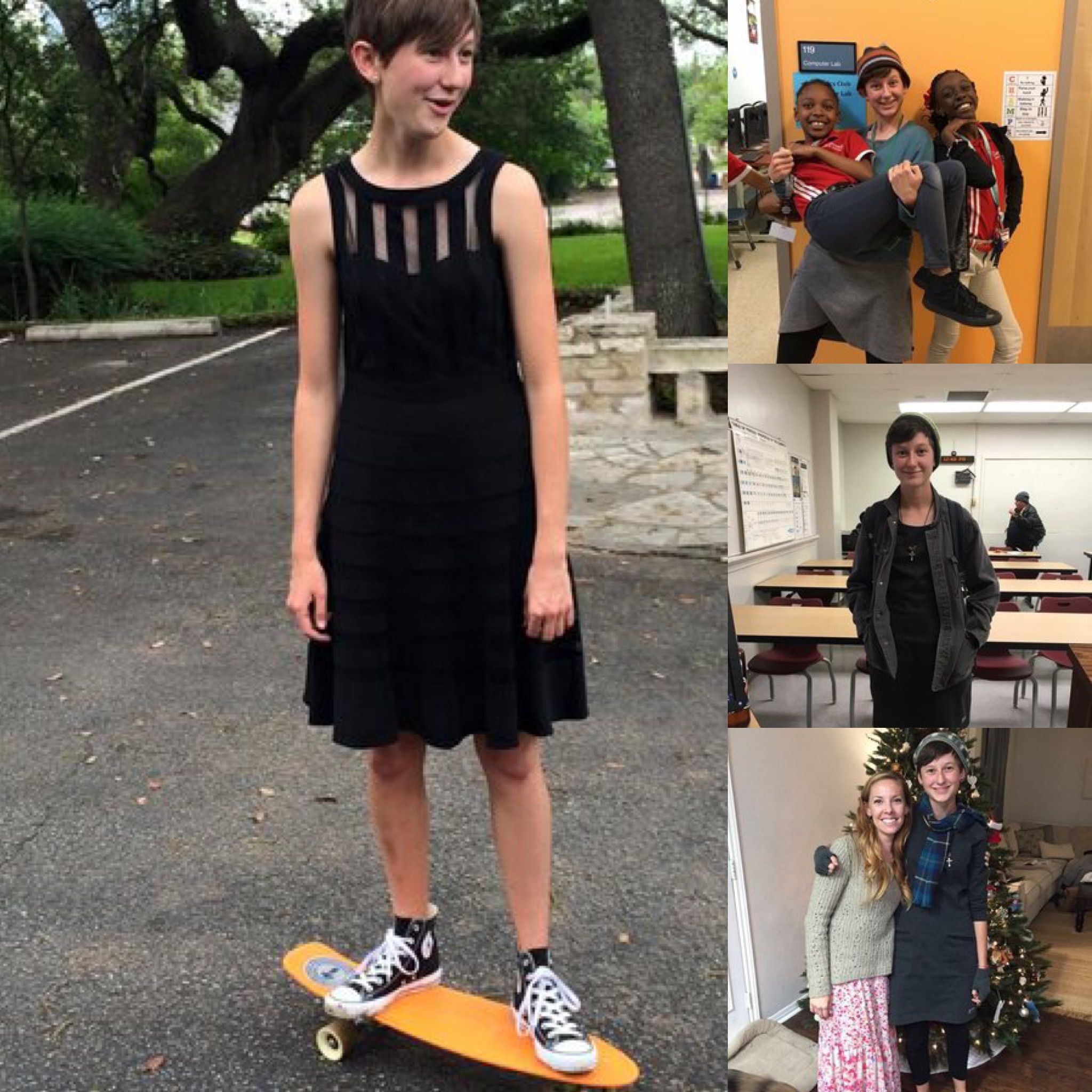Dressember advocate, Maddie Hilgers, rocked only two dresses for Dressember 2016 campaign.