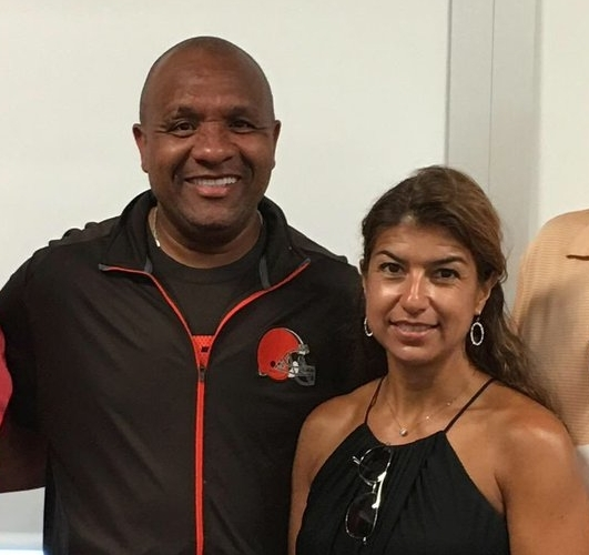 Hue and Michelle Jackson