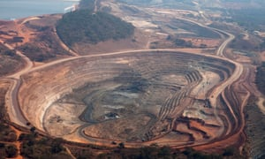 Photo of the Mutanda copper mine in Katanga province operated by Glencore. (Bloomberg/Getty Images)