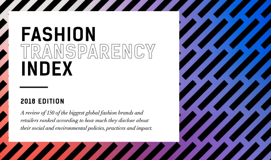 Click the image above for a list of fashion brands & retailers based on their transparency.