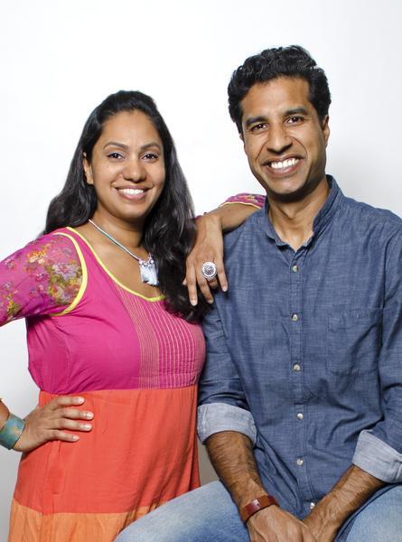 PHOTO: Matr Boomie founders, Ruchi and Manish.