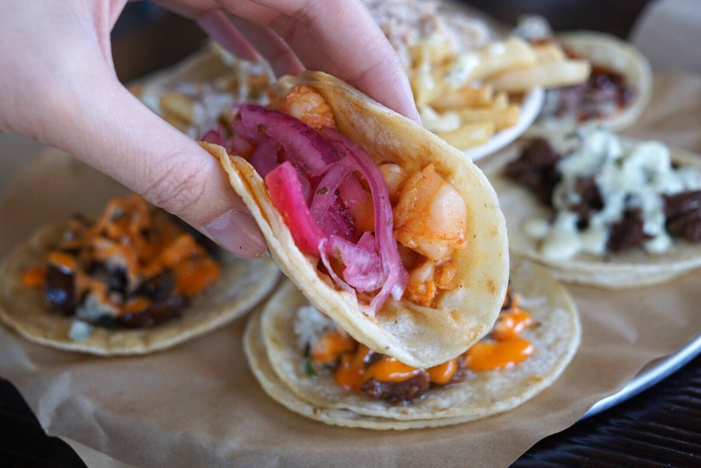 Butter Shrimp Taco