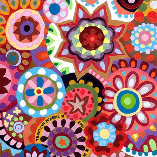 Thaneeya McArdle的彩色抽象艺术新利18在线娱乐
