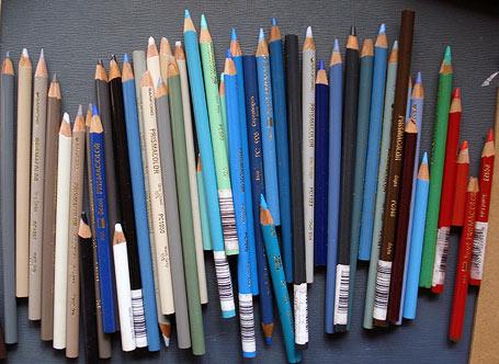 我的prismacolor彩色铅笔