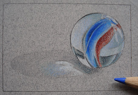 Drawing a Marble Step-by-Step