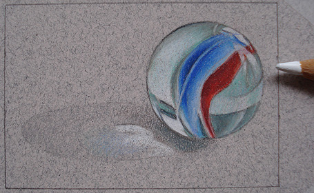 Colored Pencil Drawing Lessons on Art is Fun