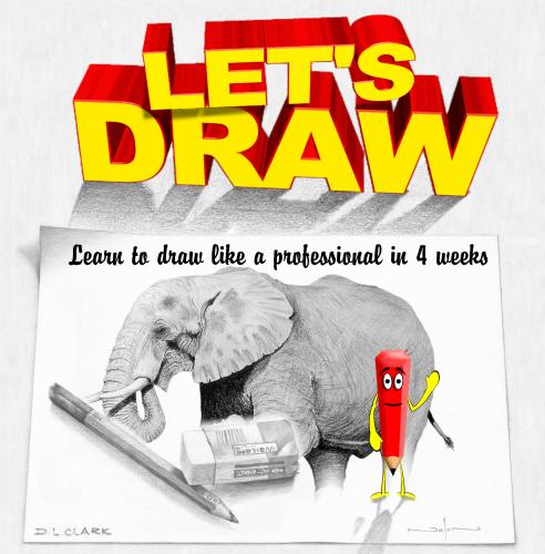 学习如何画画
