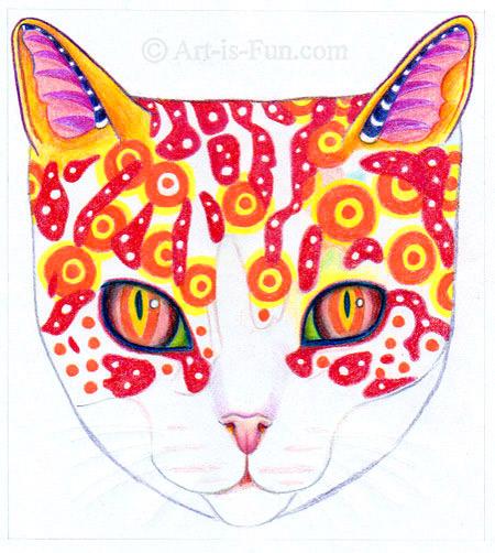 向猫添加更多颜色