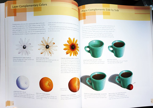 One of the sections in Chapter 2 of Painting Light with Colored Pencil