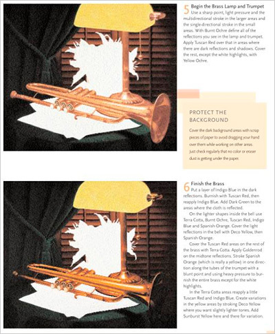 这是塞西尔·贝尔德用彩色铅笔画光的最后一课中的一页必威外围代理