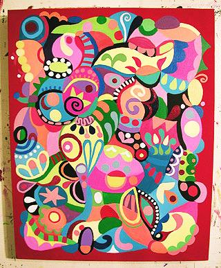 如何绘制抽象艺术