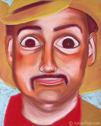 与thaneeya的柔和的肖像绘画