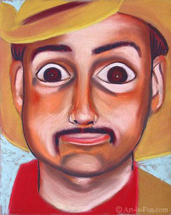 如何在艺术上画粉彩肖像很有趣必威lol