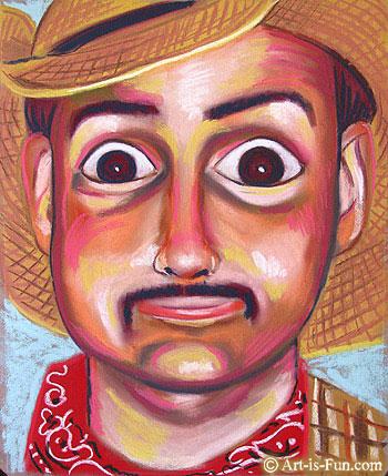柔和的肖像教程与thaneeya