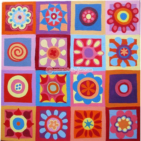 Thaneeya的抽象艺术教程