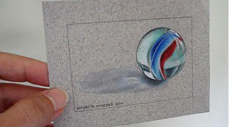 学习如何画一个逼真的大理石