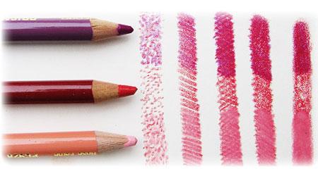 学习5种彩色铅笔技巧