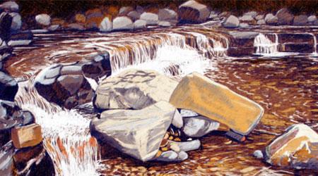 Richard Klekociuk的彩色铅笔艺术