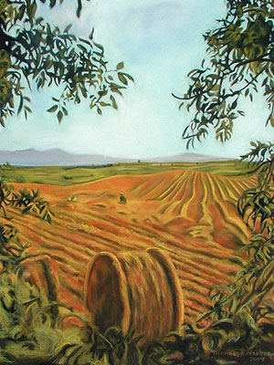 Landscape Painting by Thaneeya