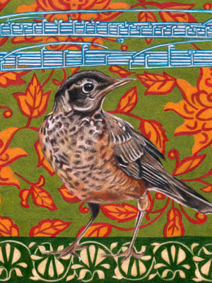 Thaneeya的鸟类艺术