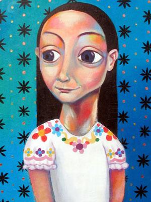 1/4 Thaneeya的肖像