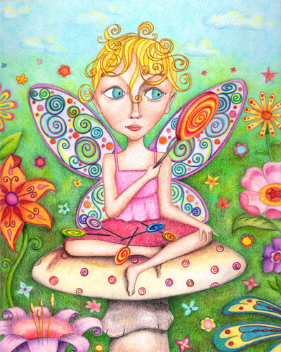 Thaneeya的异想天开的艺术风格