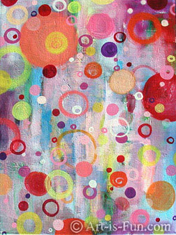 Abstract Paintings And Drawings A Visual Feast Of Colorful Art Is Fun