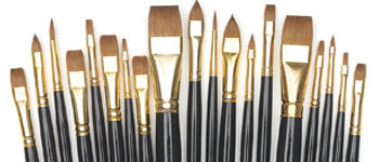 Guide to Buying Art Supplies, Watercolor Paintbrushes