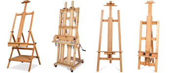 Guide to Buying Art Supplies, Easels
