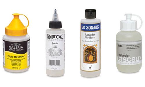 Acrylic Mediums, Retarder Medium