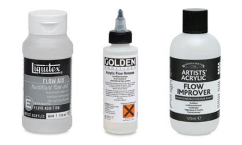 Acrylic Mediums, Flow Improver
