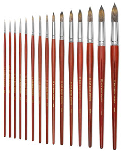 Paintbrush Sizes