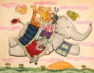 Whimsical Children's Art