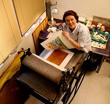 Printmaking Process